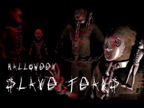 Halloween : chain lock : [slave tears]