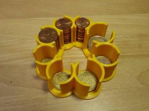 Euro Coin Holder