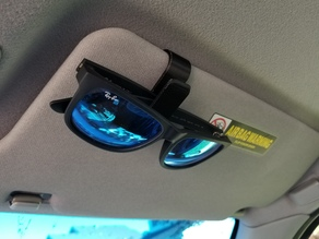 Sunglasses Car Sun Visor Clip