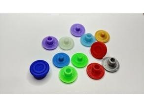Spinner cap press together