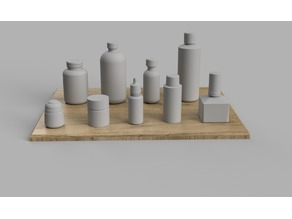 Bottles for Scale Modelling