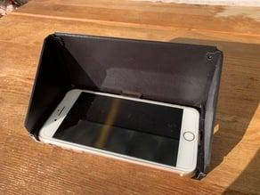 Sonnenschutz für Handy - Sun Protection Mobile Phone
