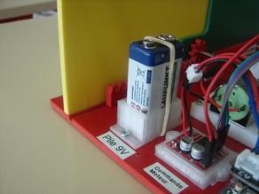 9V Battery Holder / Support pile 9V