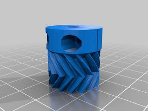 parametric clamp small gear  for wade extruder