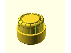 Cap with springs