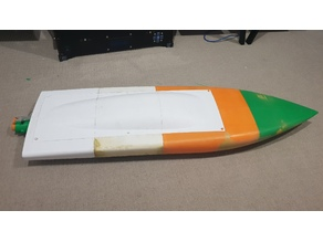 Flat bottom Rc Jet Boat