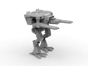 Fully posable Wardog Titanic Robot
