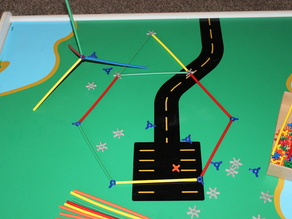 Parametric Spokes for Straw Construction Kits