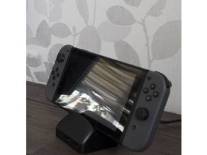 Spring loaded Nintendo Switch Dock case