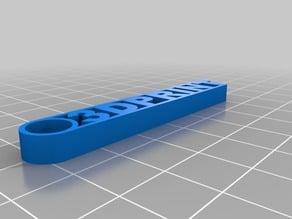 Key Ring 3DPRINT