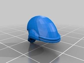 Samus Aran Helmet (Chozo Varia Suit Helmet) For 6 in figures.