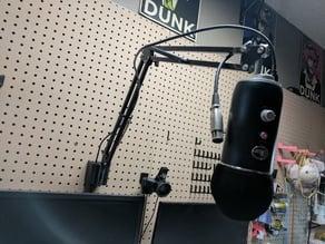 Microphone Pegboard