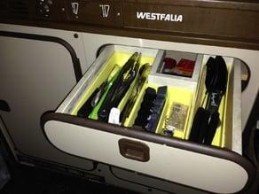 Volkswagon Vanagon Cutlery Drawer Organizer
