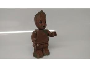Giant Lego Baby Groot