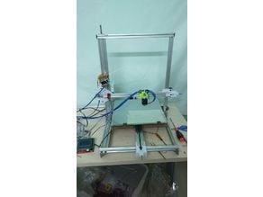 CR10 clone 3D printer