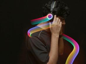NeoPixel LED Headphones