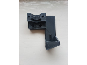 Creality CR-10 E3d mounting bracket with 5015 fan holder