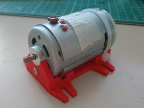 RC motor support (Johnson / Mabuchi)