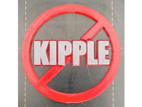 """""""No Kipple"""" sign"""
