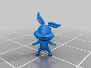 Baby Bugs Bunny from Looney Tunes Cartoon