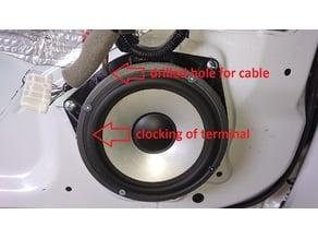 Door Speaker Adapter for Toyota GT86/Scion FR-S/Subaru BRZ