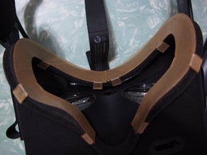 face cover with tabs for Oculus Rift CV1