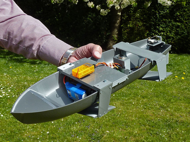 Hydrofoil Boat RC (experimental) by wersy - Thingiverse