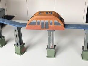 sky train - miniature 32mm tabletop toy