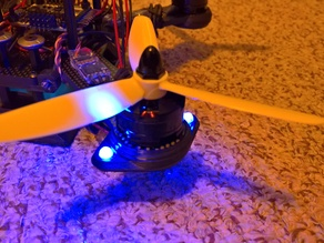 RMRC Goby 210 Motor Skids with 5mm LED Holders
