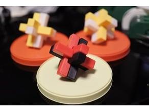 6piece cross puzzle