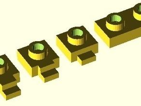 Raspberry PI  Lego blocks