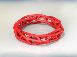 Customizable Open Frame Ring/Bracelet Thing