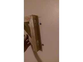 key hole bracket