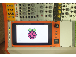 "Euroack Raspberry Pi 7"" Touch Display Panel"