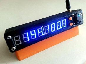 Wireless ham radio frequency counter