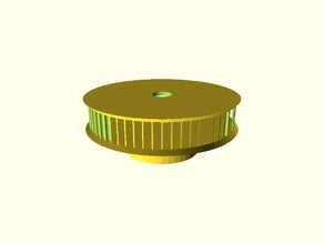 Customizable GT2 pulley