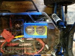 Slash 4x4 overtray fan vent