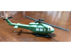 Bell Huey/Bell 205 Partial Remix for Prop