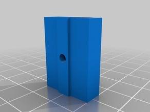 OpenBeam USB stick holder