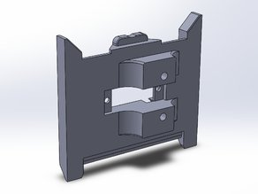 Prusa i3 Rework 1.5 extruder plate for my Quick Fit Carriage