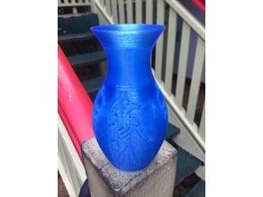 Anubis Egyptian vase