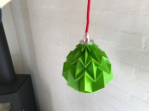 Low poly Lamp shade