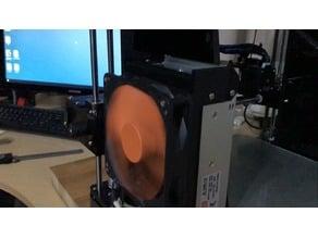 ANET A6 120mm fan power supply