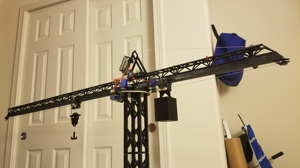 Rc Tower Crane 142m 56in By Ke5etc Thingiverse