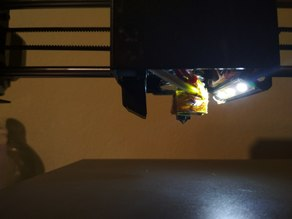 Anycubic I3 Mega hotend LED light lamp
