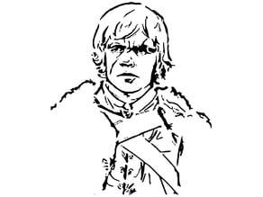 Tyrion Lannister stencil