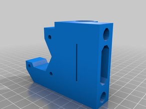 X-End axis for Prusa I3 with Anti-Backlash Z-axis
