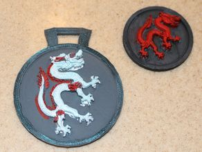 Dragon Coin and Medallion for IceFire Book by Lara Steele