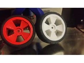1/10eme scale RC wheel