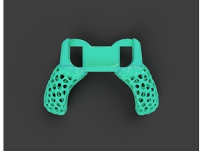 Single Joy-Con Voronoi Grip